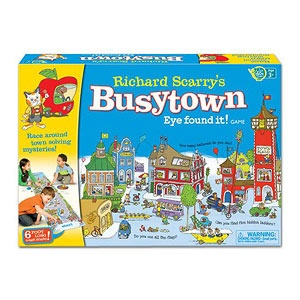 Toys for Kids With Special Needs: Richard Scarry's Busytown Eye Found It! Game (Wonder Forge) (via Parents.com)