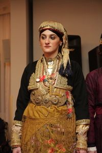 Traditional Greek costume from Naoussa.