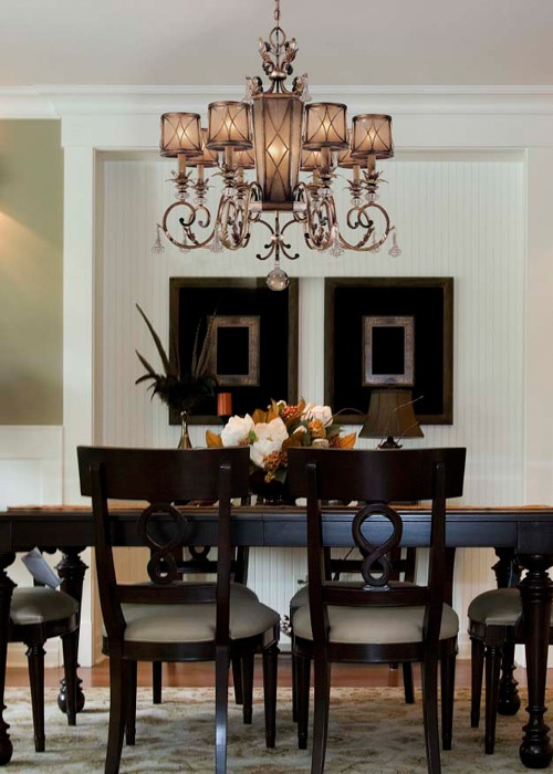 Heres A Good Example Of How To Use White Paint In Classic Dining Room Without It Looking Too Stark Or Modern The Look This Comes