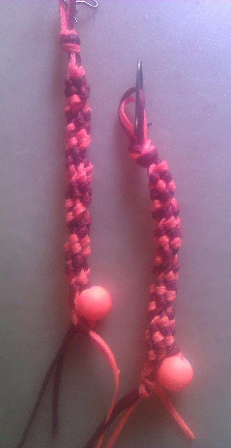 Earings, full summer colour