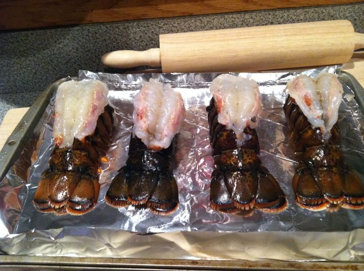 crab stuffed lobster tails 011