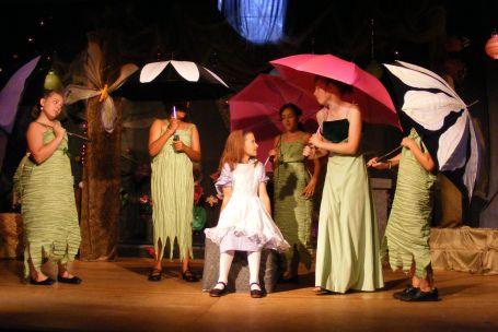 Set, Costumes from Alice in Wonderland, Junior Flowers