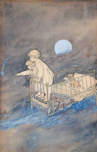"IDA RENTOUL OUTHWAITE , ""CHILDREN IN A STARRY SKY"" by sofi01, via Flickr"