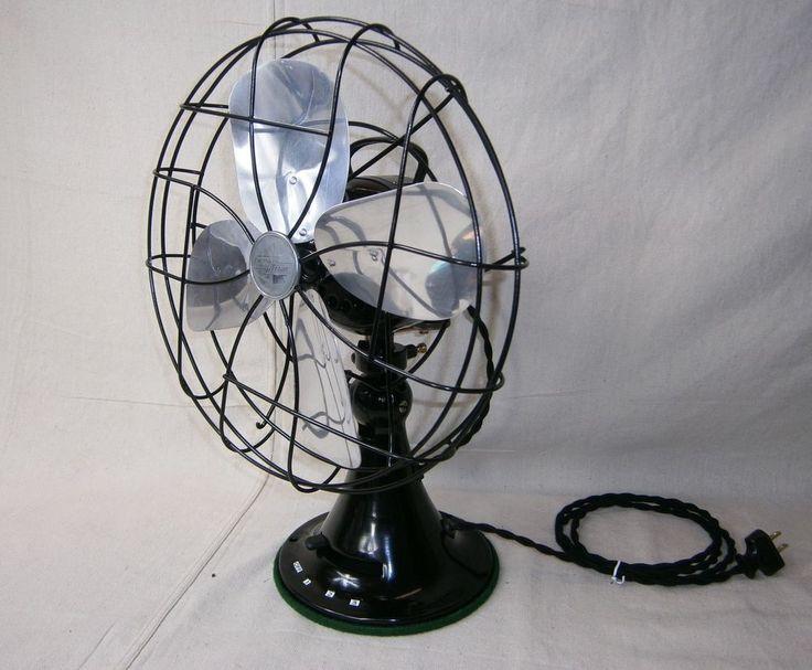 Emerson Desk Fan : Images about vintage fans on pinterest industrial