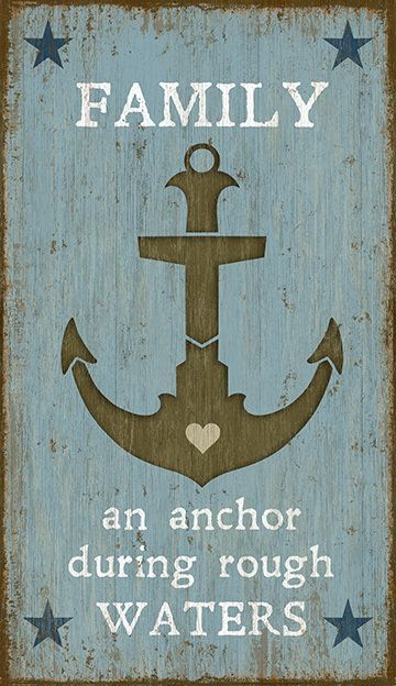 Presenting the Anchor custom art sign, created from the imagination of artist, S…