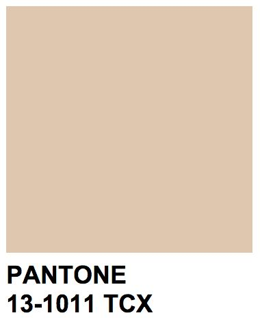 Pantone 13-1011 TCXColor Name:Ivory Cream