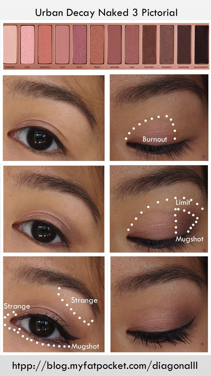 A light rosy eye look that isn't too much for the daytime!