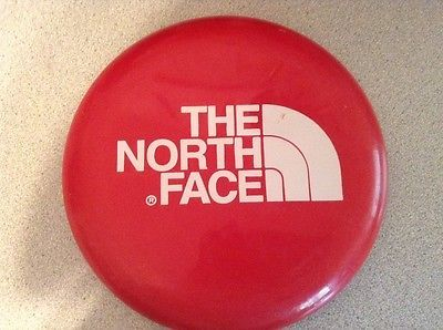 The North Face Frisbee Red White Outdoor Fun Games