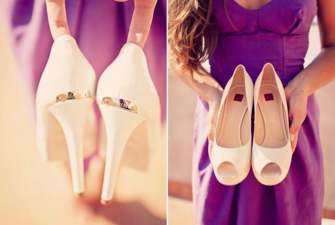 Белые туфли | Белые туфли на каблуке