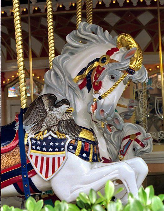 Walt Disney World, Lake Buena Vista, FL (by Jean Bennett) Cinderella's Golden Carousel
