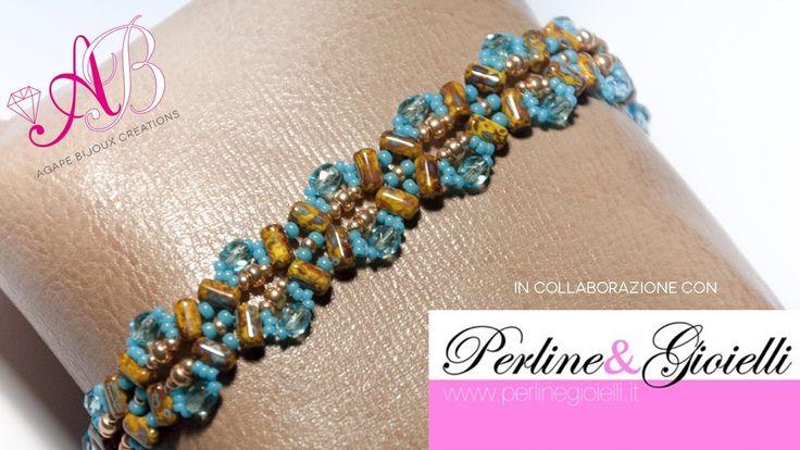 Oltre 25 fantastiche idee su braccialetti con perline su - Giroletto fai da te ...