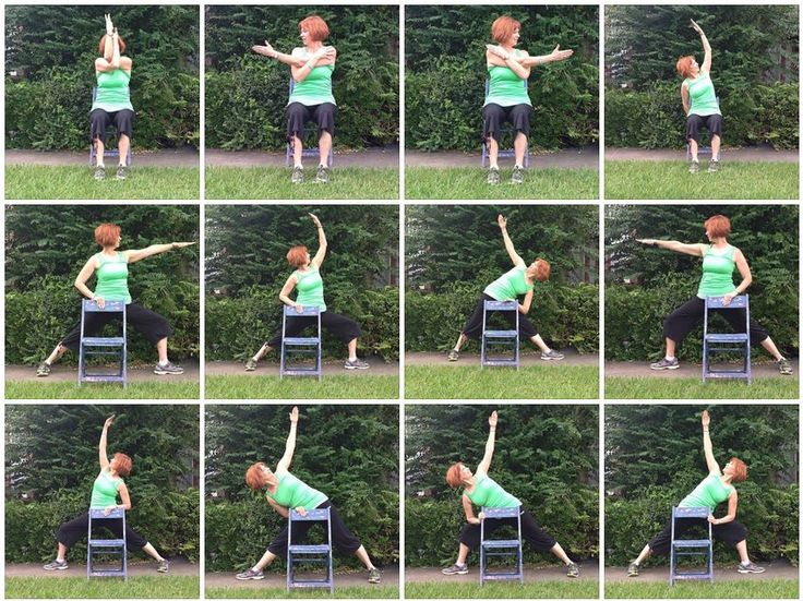 #ChairYoga by Gail Pickens-Barger, Yoga with Gaileee, Get Fit Where You Sit Chair Yoga Fitness Teacher.
