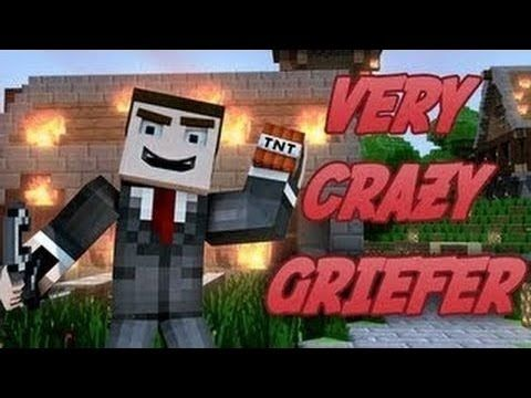 """""""Very Crazy Griefer"""" - A Minecraft Parody of PSY's GENTLEMAN (Music Video)"""