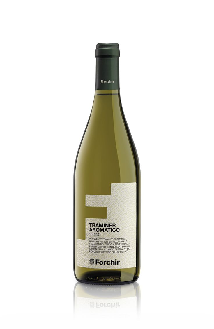 "Forchir | TRAMINER AROMATICO""GLÉRE"" #Forchir #tramineraromatico #whitewines #wine #vino #italianwines #FriuliVeneziaGiulia #Italia #wineporn #japanfood"