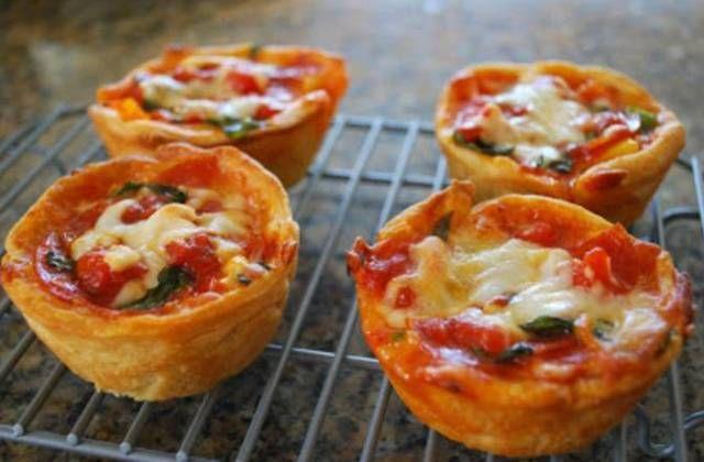Pizzamuffin 300 kalória alatt