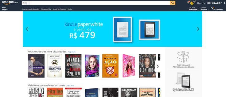 Amazon Brasil já permite que alfarrabistas e editoras vendam no site  #amazon #amazonbr #amazoncombr #amazonlivros #comprarlivros #comprarlivrosonline #cupomdedescontoamazon #cupomdescontoamazon #editorasdelivros #livrosemportuguês #valepresenteamazon