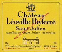 Chateau Leoville Poyferre Saint Julien...On Sale for  $69.99 per Bottle.  Buy this bottle of wine at www.mobilewinedeals.com