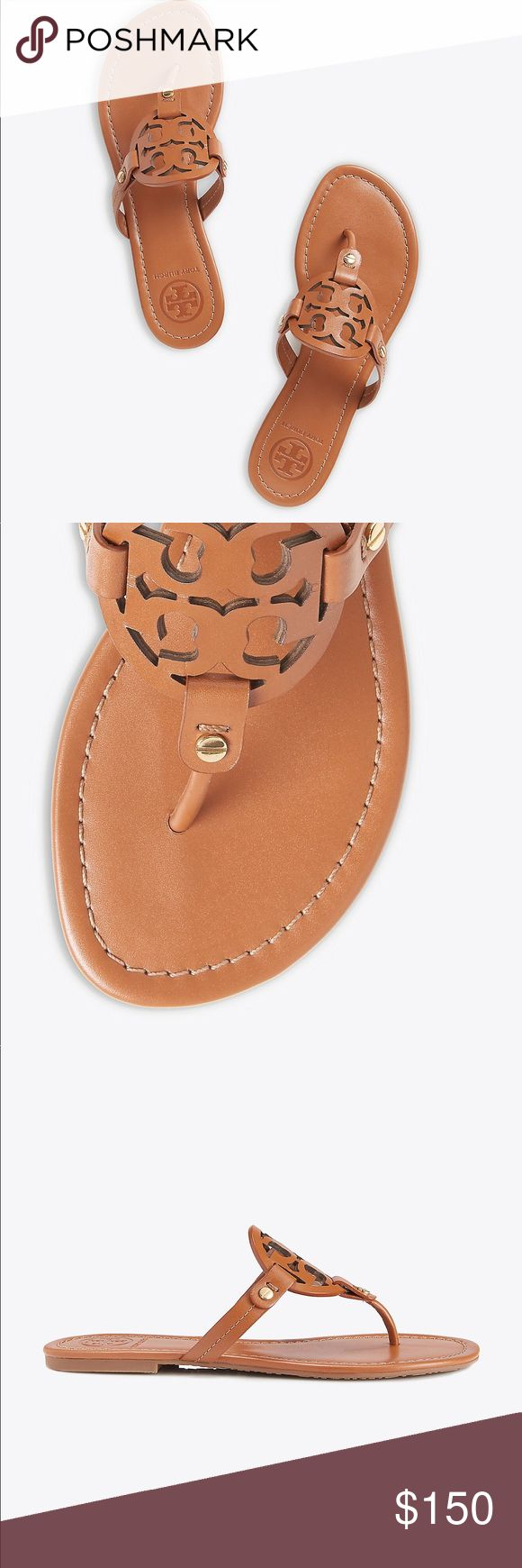 Tory Burch sandals/ Flip Flop BRAND NEW! Size:6 1/2 Color: Camel Tory Burch Shoes Sandals