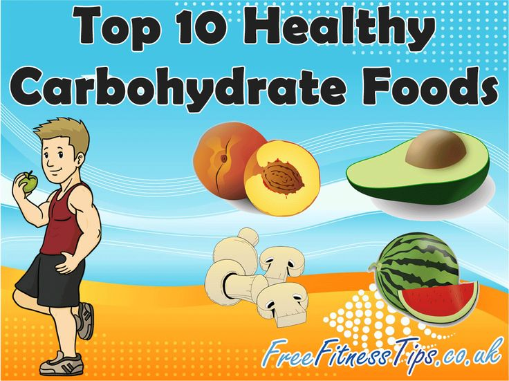 Top 10 Healthy Carbohydrate Foods