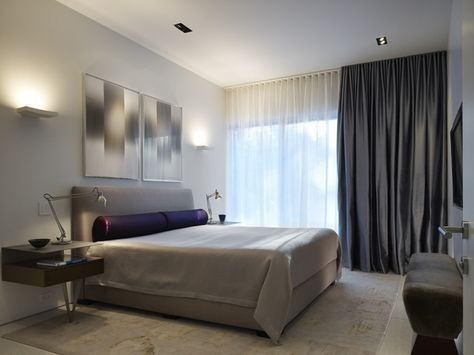schlafzimmer gardinen weiß schier vorhänge taft dunkelgrau