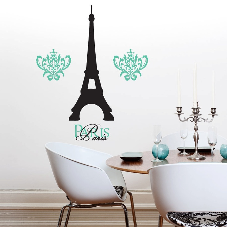 Small Eiffel Tower Wall Decor : Images about paris birthday party on