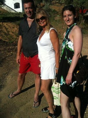 Goldie Hawn enjoys the beach on the Island of Skiathos 25/06/2013