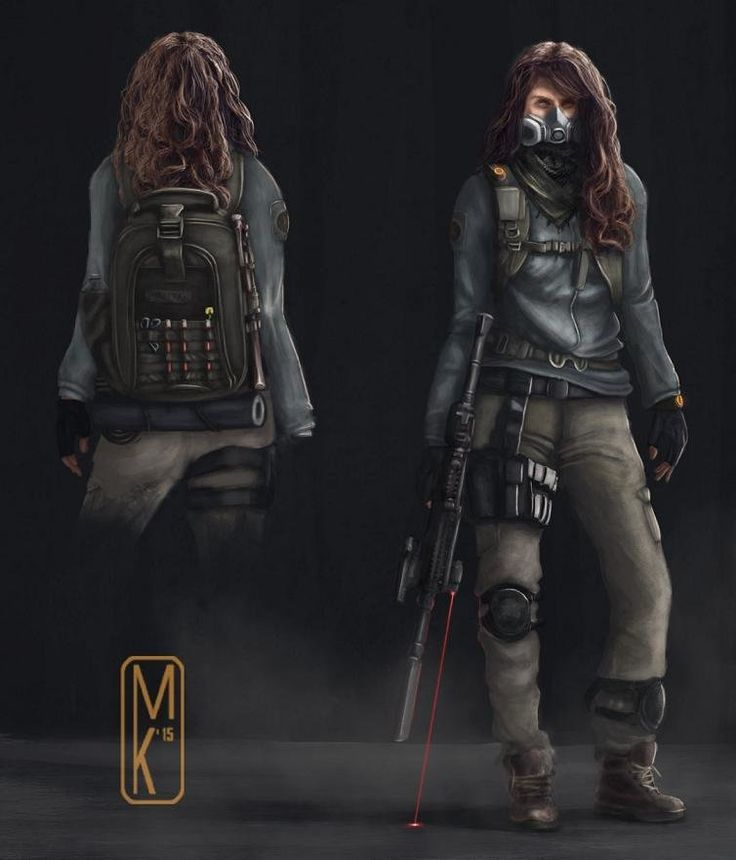the division character concept art - Google Search
