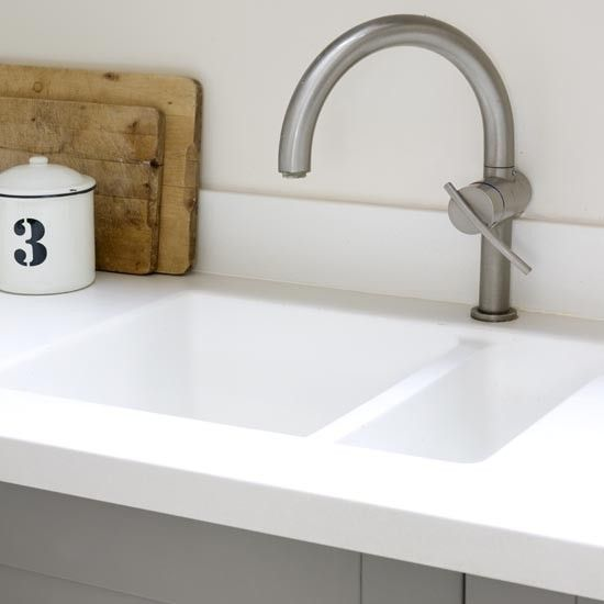 Composite kitchen worktop | Kitchen | Makeover | PHOTO GALLERY | Ideal Home | Housetohome.co.uk