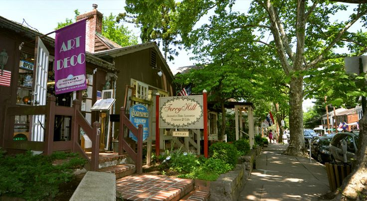 New Hope, PA. The coolest little town on the Delaware River, wonderful shopping, quaint restaurants, historic buildings. It was a blast!