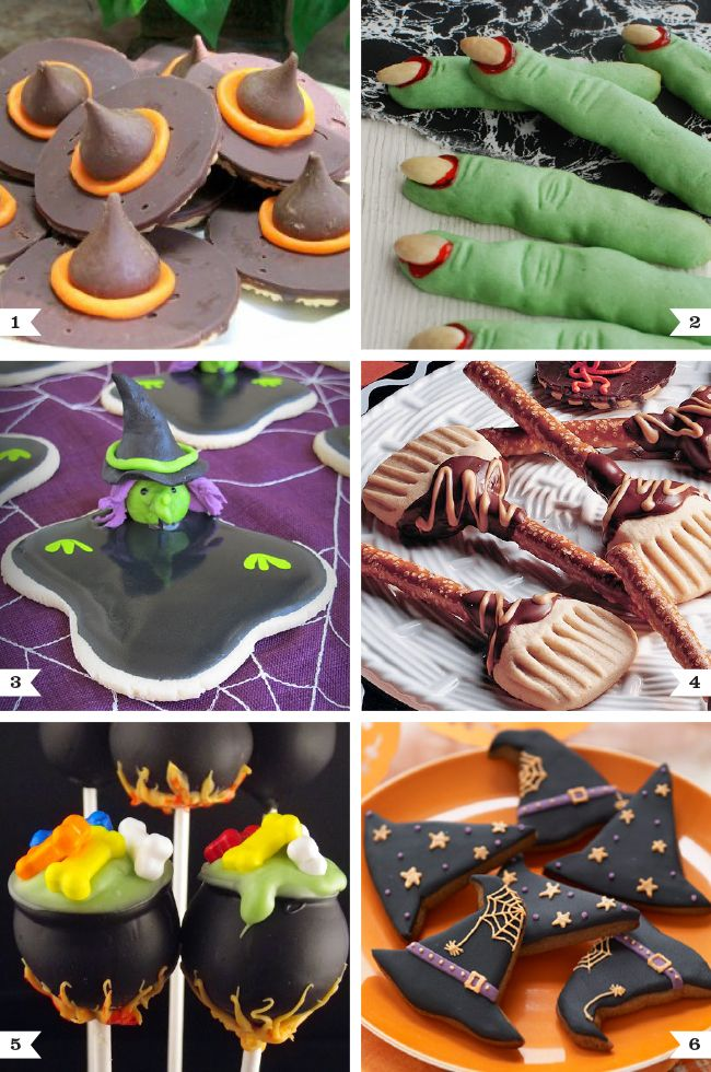 Witch themed dessert recipes - Chickabug Blog: ideas for your beautifully personalized parties