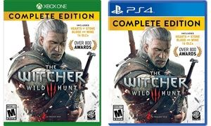 Groupon - The Witcher 3: Wild Hunt Complete Edition for Xbox One or PS4. Groupon deal price: $37.99