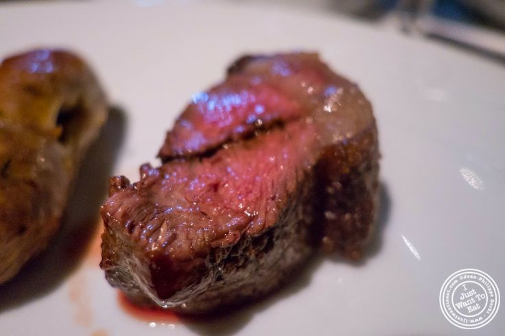 image of picanha or prime part of the sirloin at Fogo De Chao Brazilian steakhouse in NYC, New York