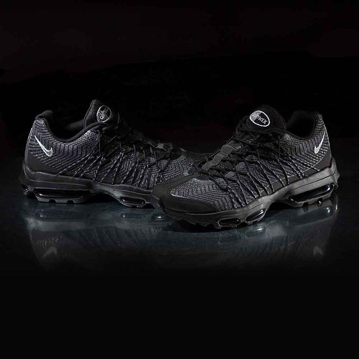 air max 95 jacquard all black