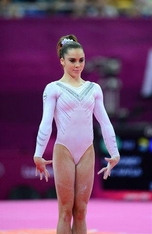 Mark J. Rebilas-US PRESSWIRE/US Presswire  McKayla Maroney prepares for her first vault during event finals.
