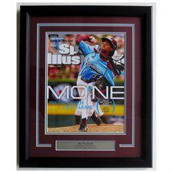 Mone Davis Philadelphia Taney Framed 18x22 Sports Illustrated Cover-up Photo