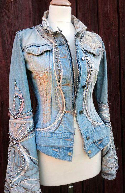 Gilet jeans Abbigliamento, vestiti e accessori di moda a