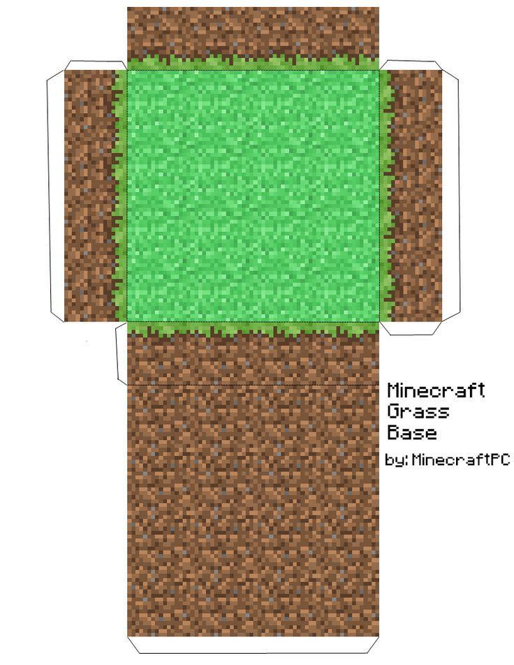 Minecraft Papercraft House 08
