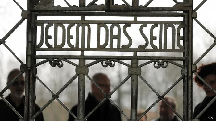 """""""To Each His Own"""" - Buchenwald Concentration Camp"""