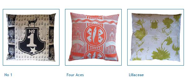 fabricnation designs: no1, Four Aces and Liliaceae