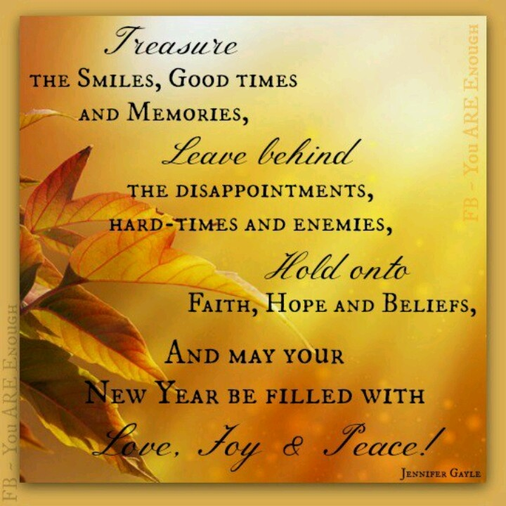 New Year Blessing 2014