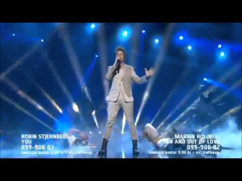 Sweden´s contribution to EuroVision Songcontest 2013 - Robin Stjernberg - You