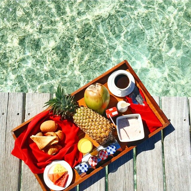 We love to have breakfast with our feet in the water @ClubMed ! Can you imagine the view too you'd have? ---------------------------------------------- Location : #ClubMedKani, Maldives ---------------------------------------------- Photo from @sezyilmaz ---------------------------------------------- Tag #ClubMed to be our #picoftheday