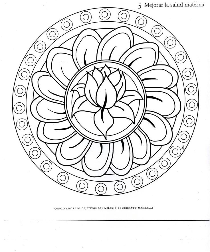 mandalas | Mandalas para colorear imprimir - Dibujos para colorear - IMAGIXS