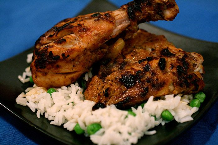 Tandoori chicken on the braai: By Jan Braai.