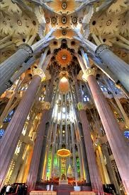 Sagrada Familia (Interior)