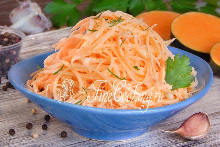 Салат из тыквы с яйцом - рецепт с фото