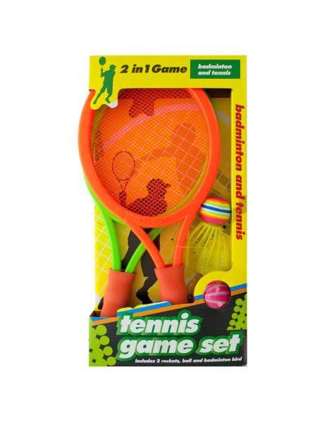 2 in 1 Badminton and Tennis Game Set (Available in a pack of 3)