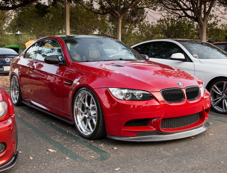 BMW E92 M3 Stanced Just Right | Flickr   Photo Sharing!