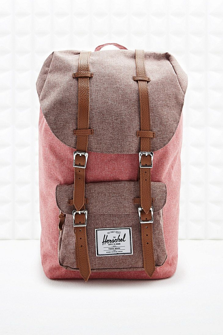 Herschel Little America Backpack in Red