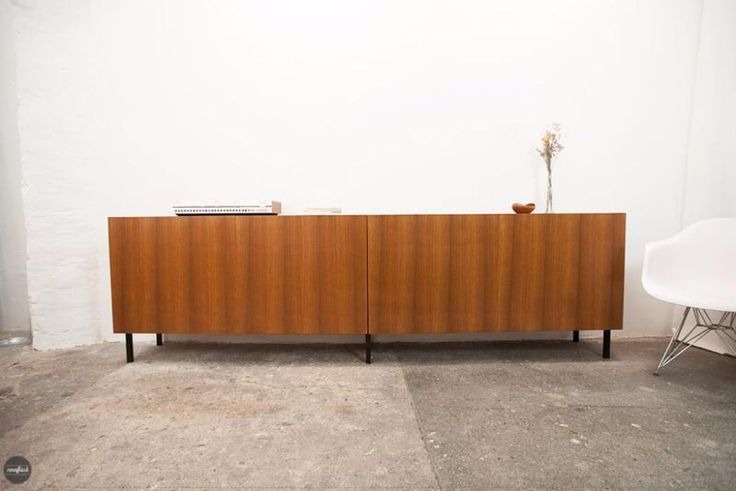 sideboard teak credenza buffet cabinet mid century vi in berlin weissensee. Black Bedroom Furniture Sets. Home Design Ideas